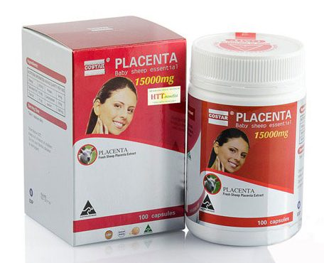 Viên Uống Nhau Thai Cừu Costar Placenta Baby Sheep Essential 15000Mg