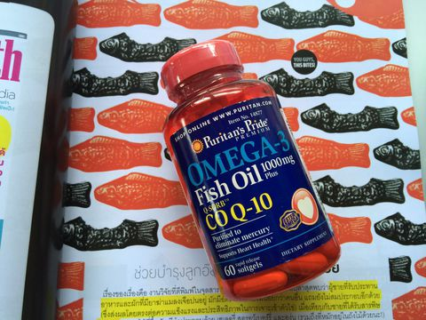 Puritan's Pride Omega-3 Fish Oil CO Q-10
